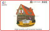 Médailles molles de Pated de ruban d'émail de qualité