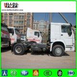 caminhão do trator da condução à direita HOWO do euro 2 de 6X4 371HP