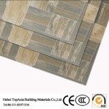 Mattonelle di ceramica rustiche della parete del pavimento della porcellana lustrate colore del cemento