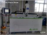 Marco de ventana de aluminio--Orificios, surco que muele el ranurador Lxfa-CNC-1200 de la copia 3X