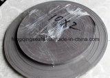 Tira de desgaste bronzeada hidráulica da fita do guia de PTFE