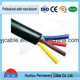 4*1.0mm2 cabo favorável ao meio ambiente da borracha da potência Cable/H07rn-F