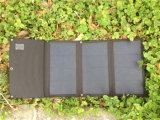 14W de vouwbare Monocrystalline ZonneLader van de Batterij met USB (4 cellen)