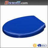 Bleu sanitaire chaud de toilette de norme européenne de vente