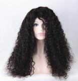Peluca llena del cordón del pelo humano de Remy de la alta calidad