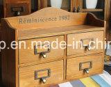 Cabina de madera del cajón de los muebles retros de Exquiste