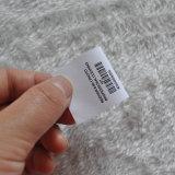 Impresión de etiquetas dobladas para la ropa / ropa
