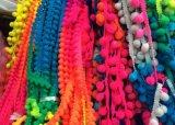 Край шнурка формы шарика дешевого высокого простирания малый для одежды