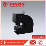 Poinçonneuse de H de structure hydraulique de bâti en acier (CH-100A)