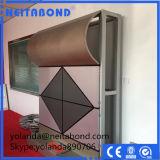 Панель ACP Nacreous покрытия алюминиевая составная строительного материала