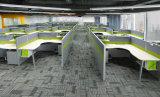 Meubles de bureau élevés de poste de travail d'écran de qualité d'Uispair de partition moderne de bureau