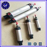 Piccolo mini cilindro rotondo pneumatico dell'aria compressa del cilindro della pompa ad aria compressa del cilindro dell'aria di doppia del Rod di azione serie di Mal
