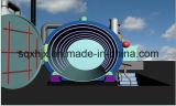 planta da refinação do desperdício do plástico 15ton ao petróleo plástico