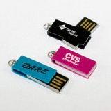 Movimentação instantânea da pena do USB da jóia mini (PZI715)