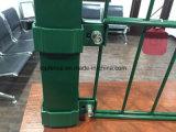 Панели 656 проволочной изгороди PVC Coated двойные