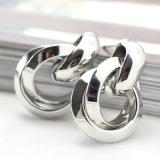 Lega a spirale che lancia i piccoli orecchini della vite prigioniera in oro /Silver di placcatura