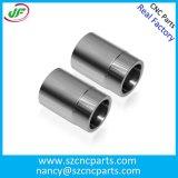 Peças de alumínio de giro por máquinas giradas, peças do CNC do CNC
