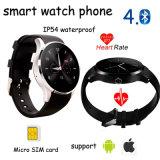 El más reciente inteligente Reloj Bluetooth del teléfono con el monitor del ritmo cardíaco (K88S)