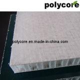 Panneau de nid d'abeilles de fibre de verre de polypropylène
