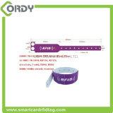 Wristband astuto del PVC RFID di abitudine a temperatura elevata per l'ospedale