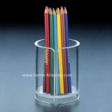 Clear Acrylic Pen Container (BTR-H1012)