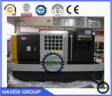 Máquina de alta velocidade do torno do metal do CNC do eixo