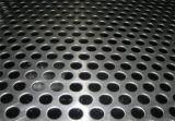 Maille perforée en aluminium en métal, feuille de trou de poinçon pour la décoration, feuille perforée