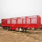 Tri-Eixo chinês durável 60 da estaca toneladas de reboque Semi para a venda