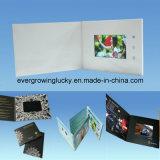 7 인치 두꺼운 표지의 책 LCD 스크린 광고 영상 브로셔