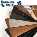 Muster geprägtes Belüftung-ledernes Material für Gepäck-Handtasche