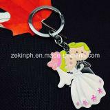 Tema creativo de encargo Keychains promocional de la boda