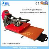 De glissière machine magnétique à haute pression de presse de la chaleur de T-shirt à l'extérieur