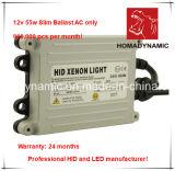 reattanza sottile del xeno NASCOSTA alto potere di 12V 55W Ballast/HID con 24 garanzie dei mesi
