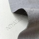 O couro sintético gravado de Microfiber para a bagagem calç a bolsa