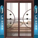 Puerta colgante de ofrecimiento en sitio revisada del aluminio del TUV Maufacturer