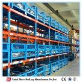 中国は調節可能な店の棚に棚に置く金属を使用した