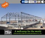 Edificio per uffici prefabbricato modulare a prova di fuoco di progetto dell'Oman