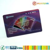 metallische klassische Visitenkarte der HF-MIFARE Mitgliedschafts-1K