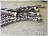 De kleine Gevlechte Slang van de Diameter PTFE Roestvrij staal (SAE R14)