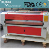 Máquina de alta precisión del grabador del laser de la tela del paño de la precisión