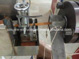 Belüftung-ABS Rand-Streifenbildungs-Strangpresßling-Maschinen-Zeile mit drei Farbdrucker