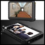 câmera sem fio DVR do Peephole da porta 5.8g (90 graus; 0.008lux; 5 polegadas LCD, movimento detetam)