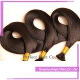 Massa a buon mercato bionda di vendita superiore dei capelli umani del commercio all'ingrosso dei capelli di Manka