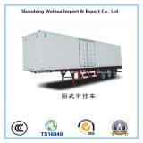 최신 판매를 위한 2/3/4 Axles Cargo 밴 Truck Semi-Trailer