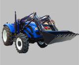Weitai 100HP 4WD Large Farm Tractor avec Front Loader