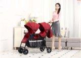 2017 neuer Baby-Zwilling-Spaziergänger-moderner Baby-Spaziergänger des Entwurfs-En1888 anerkannter China