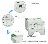 interruptor automático de transferência de 63A 3p/4p Rdq3nx-D, auto interruptor de comutação (ATSE)