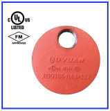 Gomito Grooved/Cogo dell'accessorio per tubi (ARANCIONE) per i sistemi di spruzzatore di fuoco
