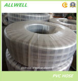 PVC鋼線の螺線形のリングのNetiing Industrailの灌漑用水のホース