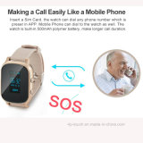 Relógio pessoal adulto do perseguidor do GPS com função de chamada (T58)